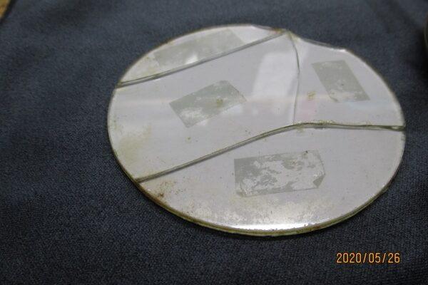 懐中時計のガラス交換