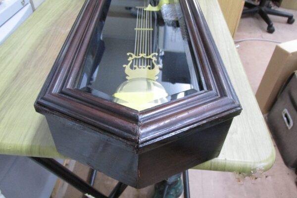 柱時計の外装修復
