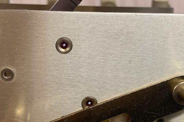 キニンガー Kieninger製ホールクロックの修理